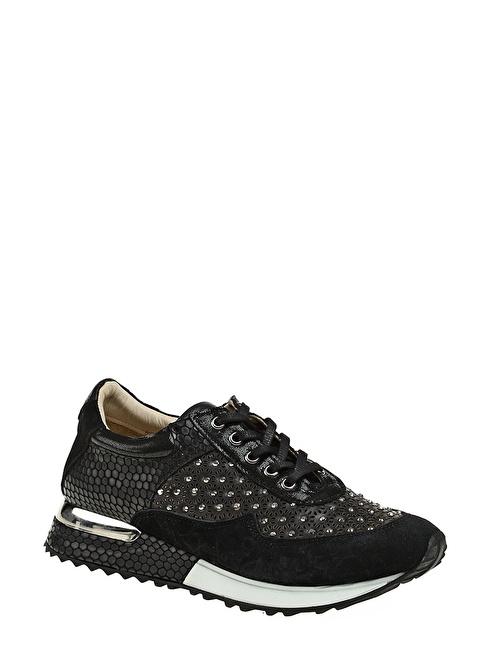 Gardashoes %100 Deri Casual Ayakkabı Siyah